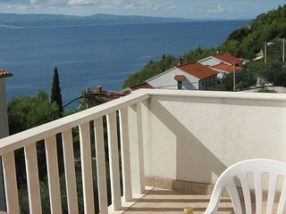 Apartments Tade - One bedroom apartment with terrace and sea view(A3) - Pisak vacation rentals