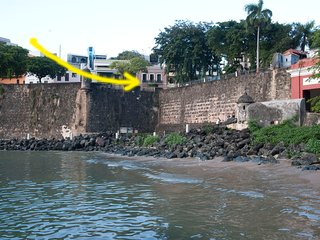 OSJ 2ND FL APT : THIS IS VIEW  FROM LIVING ROOM !! - San Juan vacation rentals
