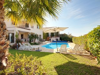 Villa Aphrodite' Rock a Fab 3 bed detached villa with p.pool in great location! - Kouklia vacation rentals
