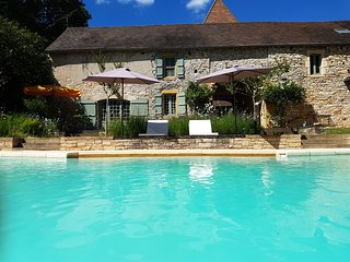 Grange du Lac, exclusive gite with private pool & lake only 2mins from village - Cazals vacation rentals