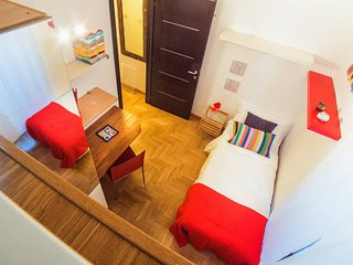 Eclectic 3 bed flat 10 minutes from the Colosseum - Roma vacation rentals