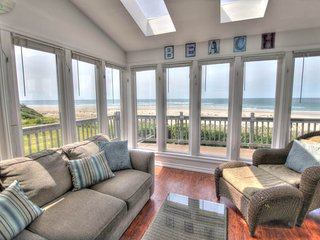 Oceanfront Home with Hot Tub on a Sandy Beach! - Waldport vacation rentals