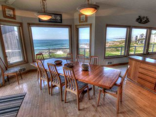Ocean Front Home with Hot Tub and Game Room! - Yachats vacation rentals