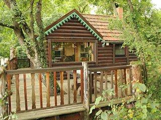 Cabane  &  Gite  avec  Piscine chauffée dans une serre tropicale - Marciac vacation rentals