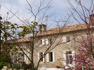500 year old farmhouse in a small hamlet with a private pool & beautiful view - Margueron vacation rentals