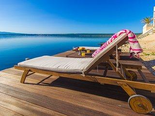 Nice Villa with Deck and Hot Tub - Posedarje vacation rentals