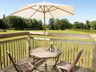 the garden room peaceful rural retreat with beautiful views and balcony - Dorrington vacation rentals