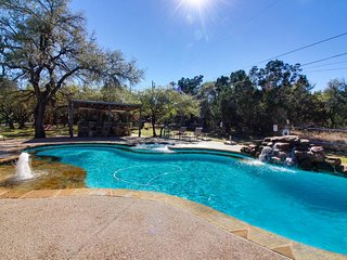Country adorned dog-friendly home w/ shared pool & hot tub on large property - Dripping Springs vacation rentals