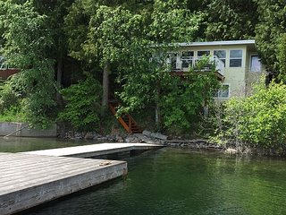 Outdoor living spaces galore and a private hot tub! - Christina Lake vacation rentals