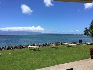 Kahana Reef 120 Beautiful Ocean Front One Bedroom - Lahaina vacation rentals
