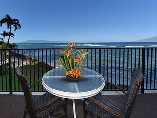 Hololani A204 Bright Blue Direct Ocean Views!! Summer Dates Available! - Lahaina vacation rentals