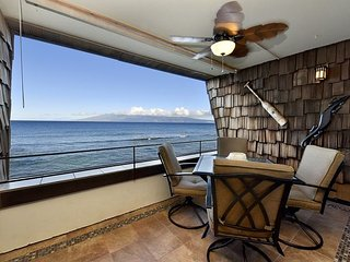 Kulakane 307 Direct Oceanfront - Incredible Views - Newly Remodeled - Lahaina vacation rentals