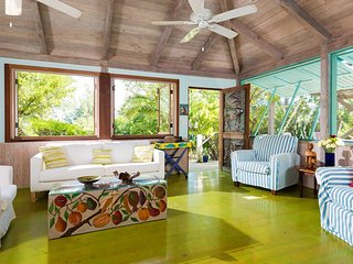 Artists bungalows in a garden oasis yoga deck 190 pace path to Grace Bay... - Leeward vacation rentals