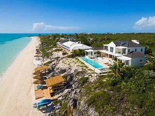 Breathtaking Views In Every Shade Of Blue Greet You At This Elegant Villa - Providenciales vacation rentals