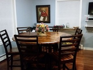 In town Edgewood St. Property Sleeps 10  fans in bedroom and livingroom area - Bar Harbor vacation rentals