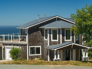 Perched high above Rockaway Beach this home has amazing views of the coast! - Rockaway Beach vacation rentals