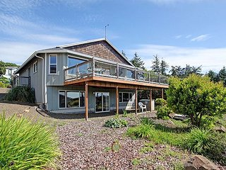Experience Oceanside, Oregon from this home perched high above the waves! - Oceanside vacation rentals