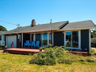 Miles of beach access just 10 feet from this beautiful ocean-view home1 - Waldport vacation rentals