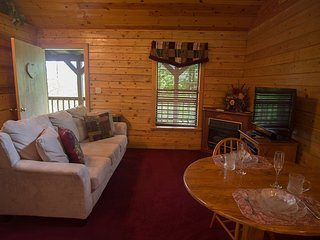 Enchanted Forest: Deluxe Mountain Top Cabin 3 - Eureka Springs vacation rentals