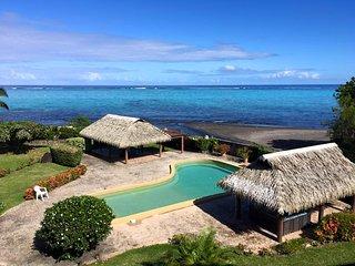 Appartement Tiapa - 2 chambres - bord de mer & piscine - 5 pers - Paea Tahiti - - Tahiti vacation rentals