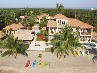Luxury Family Retreat, Sunrise Over the Sea, Sunset Over Mountains (Sleeps 14) - Placencia vacation rentals