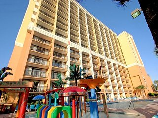 HUGE 1 BEDROOM DIRECT OCEANFRONT CONDO AT THE CARAVELLE RESORT! - Myrtle Beach vacation rentals