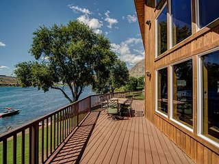 NEW! Cozy Waterfront Home on Lake Entiat by Sage Vacation Rentals - Chelan vacation rentals