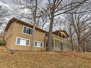 NEW! Lakefront 4BR Shell Knob House w/Outdoor Shower - Shell Knob vacation rentals