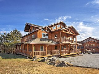 NEW! 10BR Shell Knob Cabin - Across the Street from the Lake! - Shell Knob vacation rentals