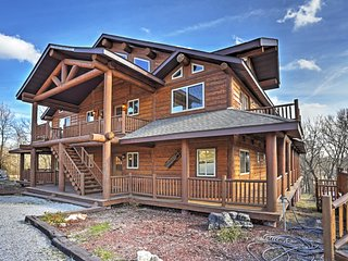 NEW! Spacious 9BR Shell Knob House - Walk to Lake! - Shell Knob vacation rentals
