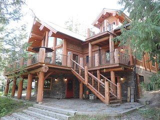 A stunning home set over three levels. - Christina Lake vacation rentals