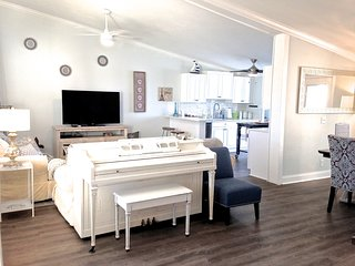 Kate's Places - Direct Riverfront Luxury 2bed 2bath Villa 86 Dolphin Cove, NSB - New Smyrna Beach vacation rentals