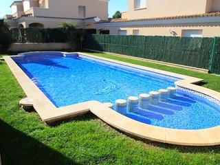 C19 SAN FELIPE adosado jardín privado piscina wifi - Miami Platja vacation rentals
