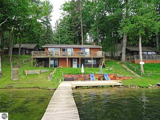 Spider Lake, Traverse City - Waterfront Four Bedroom House - Traverse City vacation rentals