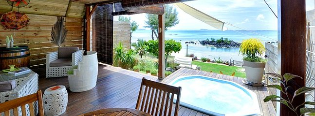 MAOD 1BR beachfront villa in Calodyne - Grand Gaube vacation rentals
