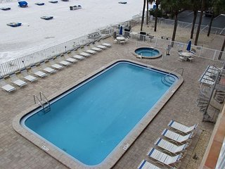 May Specils in this 3 Bedroom / 2 Bath - DIRECT beachfront at Sandcastle II - Indian Shores vacation rentals