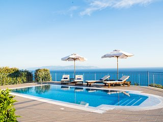 Villa Odysseus Sea & Mountain Views to the Horizon - Lourdas vacation rentals