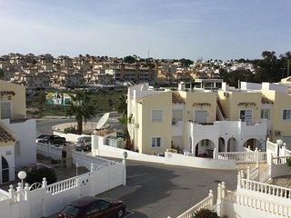 DH APT - 2 bed/2bath Apt, South Facing with large roof solarium, AC & WIFI - Villamartin vacation rentals