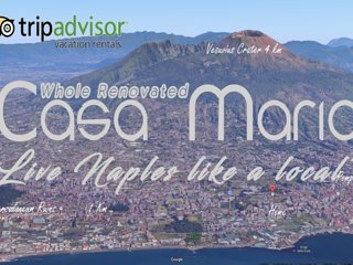 WOW EFFECT! Condo:Romantic 4 BedRooms,2 BathRooms ,Terrace,panorama,totally New! - Torre Del Greco vacation rentals