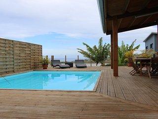 Villa moderne à Grand Bois, tout confort, 3 chambres , piscine au sel,   vue mer - Grand Bois vacation rentals