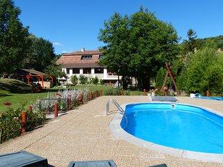 Woning met grote veranda, grote tuin en zwembad midden in de natuur. - Batonyterenye vacation rentals