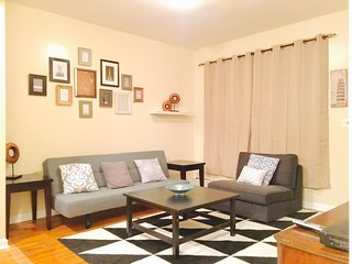 Fully furnished 2 bedroom, Sleeps 5, Close to Montefiore Hospital, Near Subway. - Riverdale vacation rentals