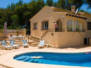 Villa Simon, Moraira, private pool, wifi, freesat - Moraira vacation rentals