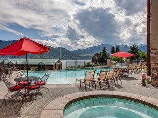 NEW! Posh 3BR Manson Condo-Overlooking Lake Chelan - Manson vacation rentals