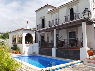 Charming traditional Villa with swimming pool and stunning panorama sea views - Santa Barbara de Nexe vacation rentals