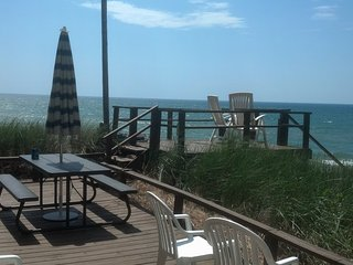Montague/Whitehall  Lake Michigan Beachfront!View! - Montague vacation rentals