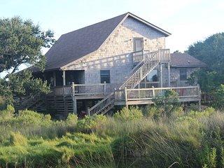 Unique 2 Unit Home (3BR/2BA 1BR/1BA) water view - Buxton vacation rentals