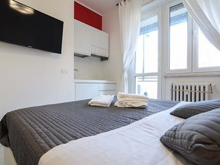 Milan Studio with Sofa Bed and Balcony - Milan vacation rentals