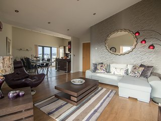 Deluxe City Penthouse Apartment with the best view of Galway - Galway vacation rentals
