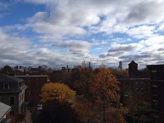 Skylines, sunny, steps to Central! Private room between MIT + Harvard - Cambridge vacation rentals